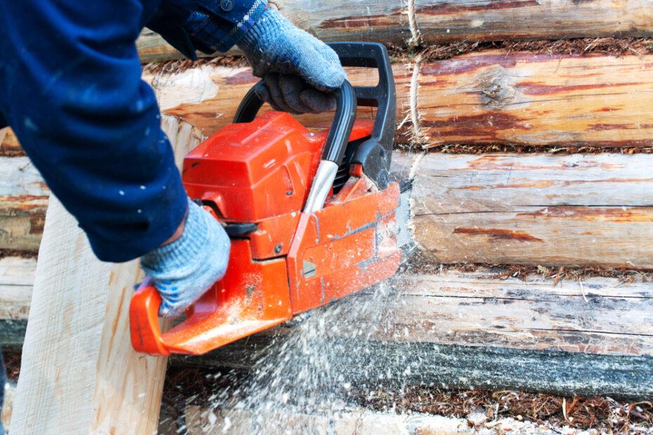log home repair and maintenance