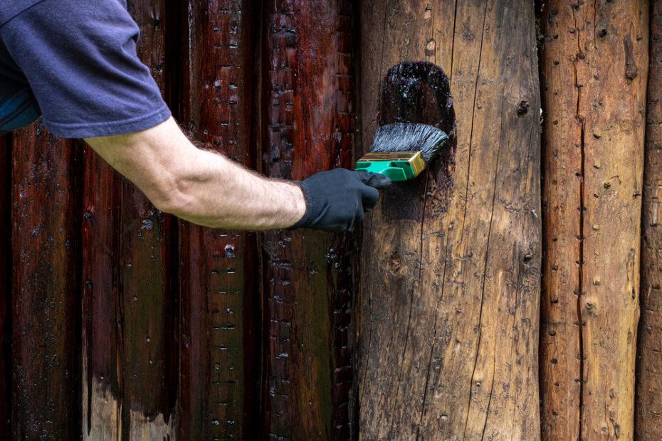 log home refinishing